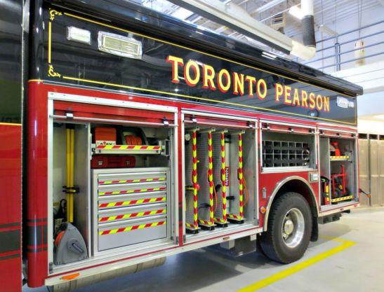 Toronto Pearson EMS truck